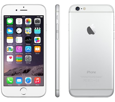 apple iphone 6 silver, 16 gb price in india – buy apple