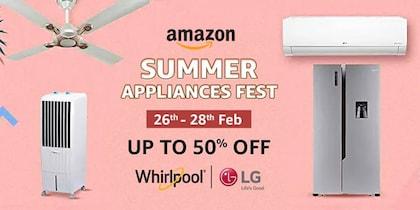Amazon Summer Appliances Fest