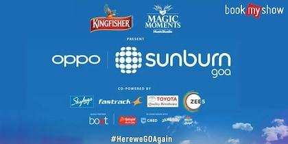 BookMyShow Sunburn Festival Goa