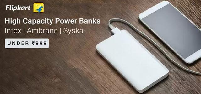 Flipkart Powerbank Offer