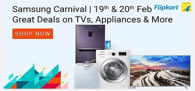 flipkart Samsung Carnival