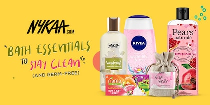 Nykaa-Bath Essentials