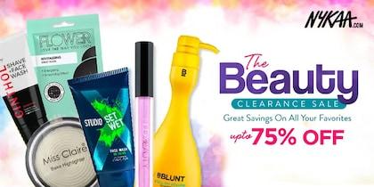 Nykaa Beauty Clearance Sale