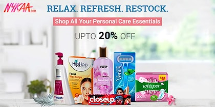 Nykaa Relax Restock Refresh Sale