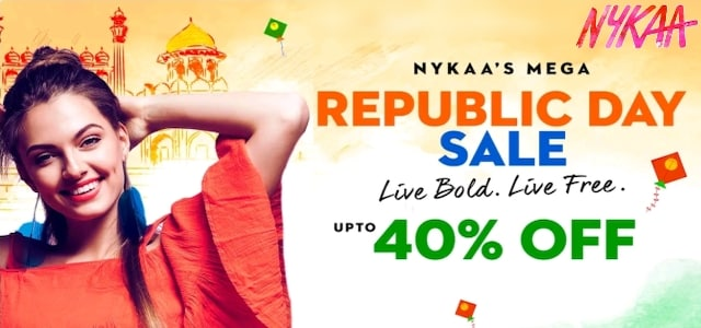 Nykaa Republic Day Sale