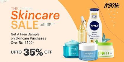Nykaa Skincare Sale