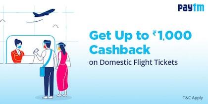 Paytm Domestic Flight Offer
