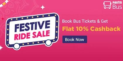 Paytm Festive Ride Sale