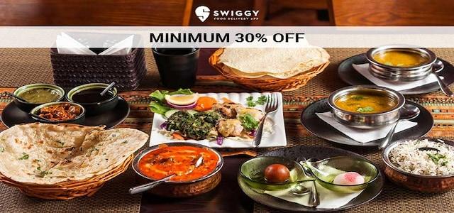 Swiggy : Minimum 30% Off