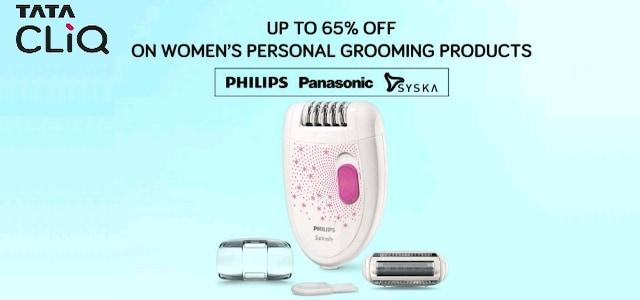 Tata Cliq Women Grooming Appliances Offer