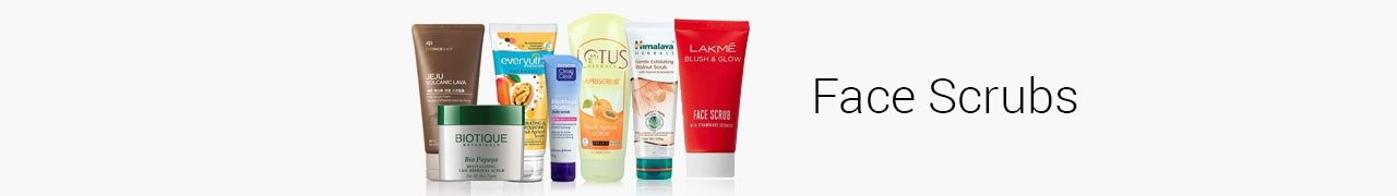 Face Scrubs Products