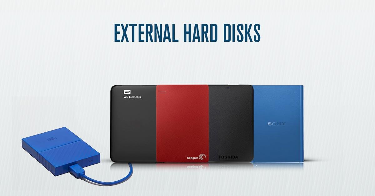 External Hard Disks Price in India | Buy External Hard Disks