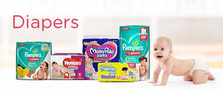 Diapers Price in India