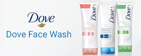 Dove Face wash