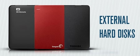 External Hard Disks Price in India