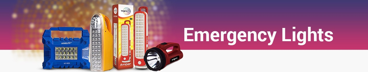 Emergency Lights Price List in India
