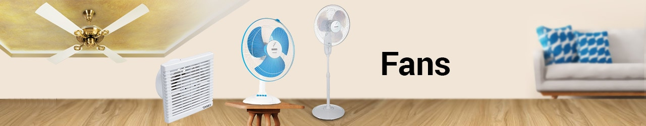 Fans Price In India