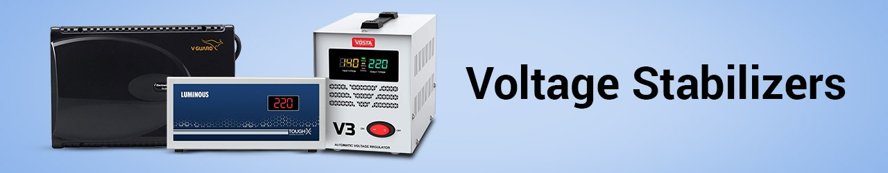Voltage Stabilizers Price In India