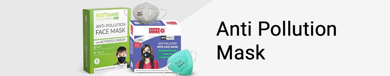Anti Pollution Mask Price List in India