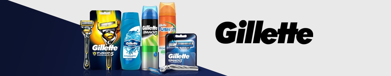 Gillette Products List