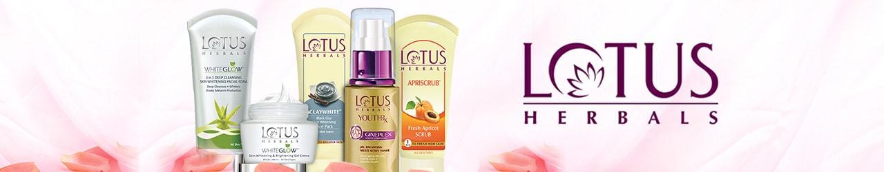Lotus Herbals Products