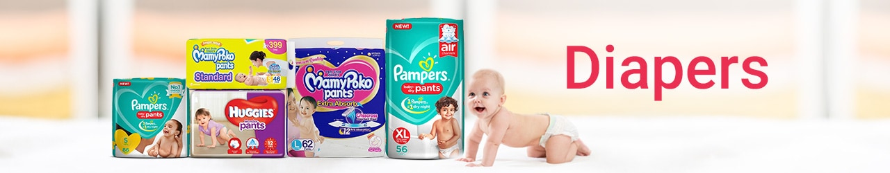 Diapers Price List in India