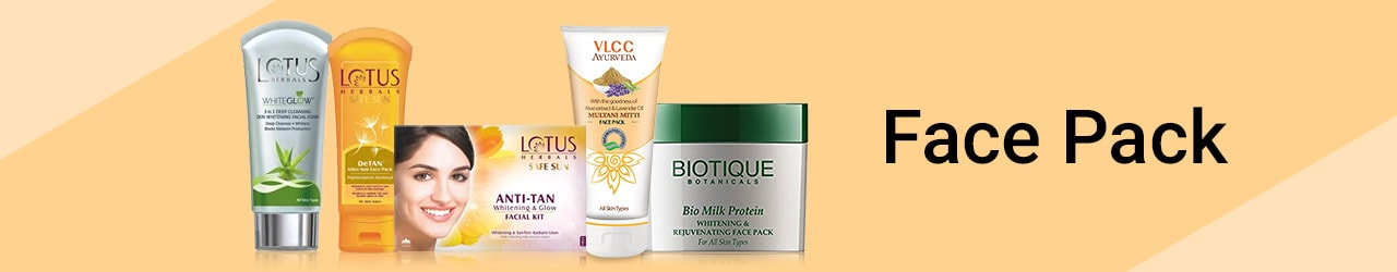 Face Pack Price List in India