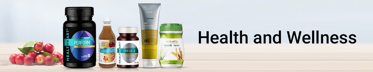 Health and Wellness Price List in India