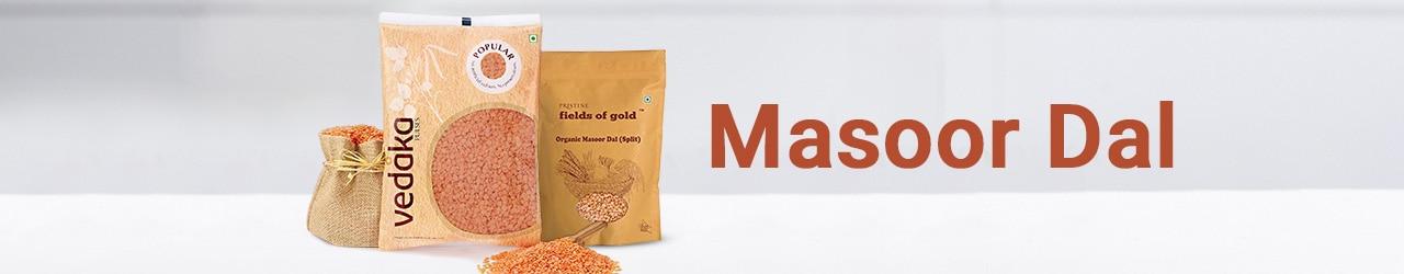 Masoor Dal Price List in India