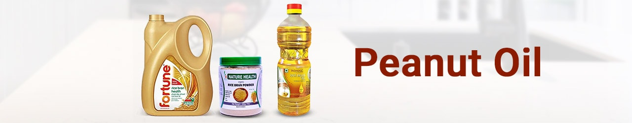 Peanut Oil Price List in India