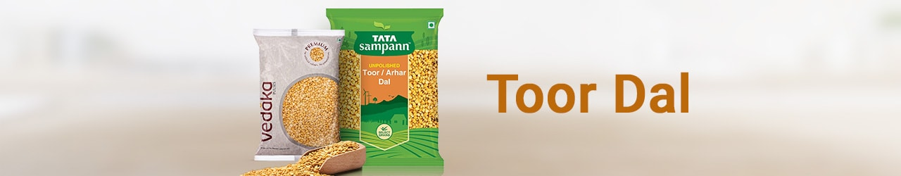 Toor Dal Price List in India