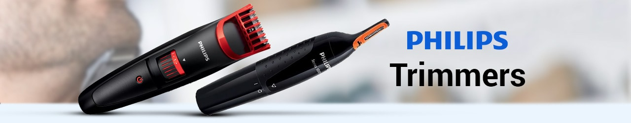 Philips Trimmer Price in India