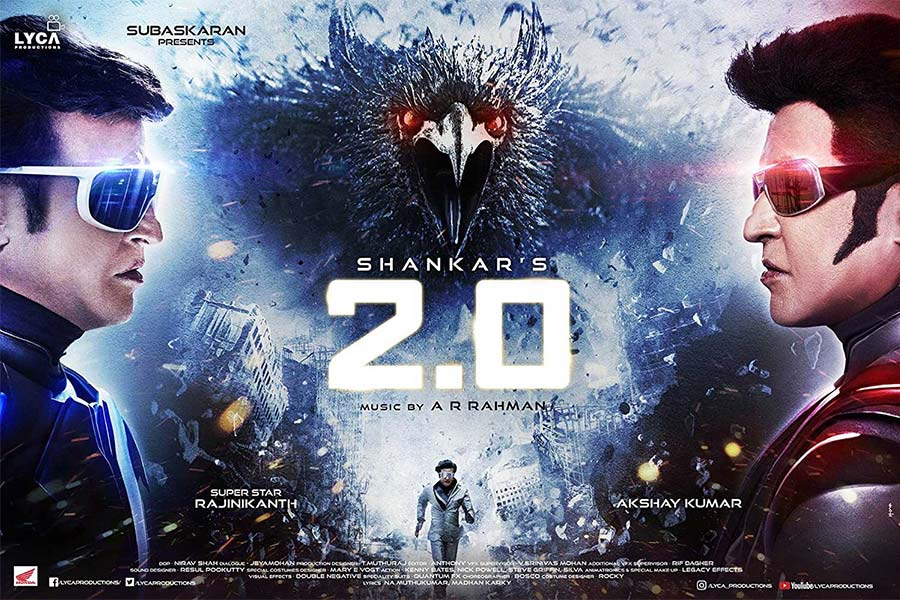 2.0 Movie Ticket Offers, Online Booking, Ticket Price, Reviews and Ratings
