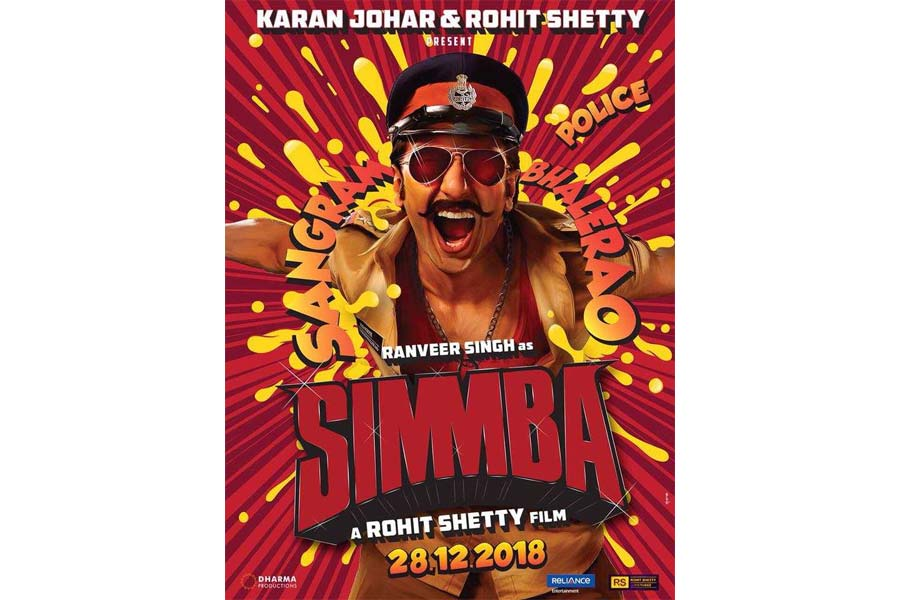 Simmba Movie Release Date, Cast, Trailer, Songs, Review