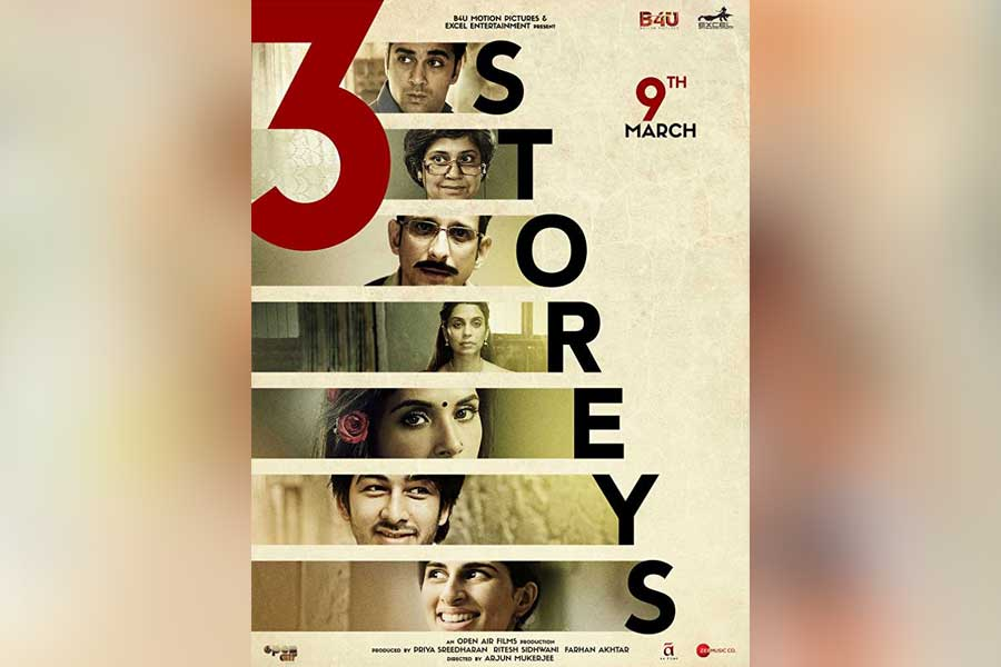 3 Storeys Movie Ticket Booking Offers, Release Date, Cast, Trailer, Songs, Review