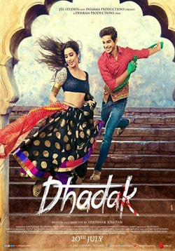 Dhadak Movie Release Date, Cast, Trailer, Songs, Review