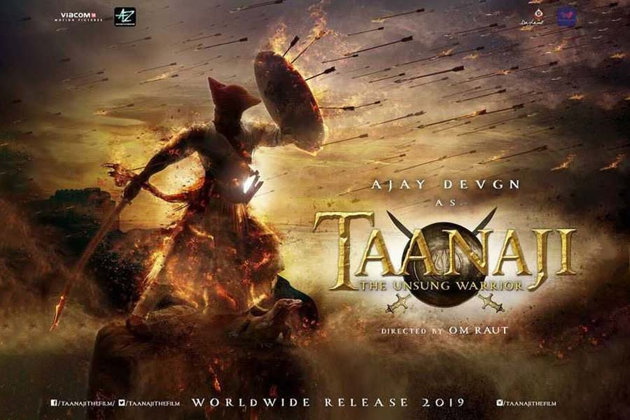 Taanaji: The Unsung Warrior Movie Ticket Offers, Online Booking, Ticket Price, Reviews and Ratings