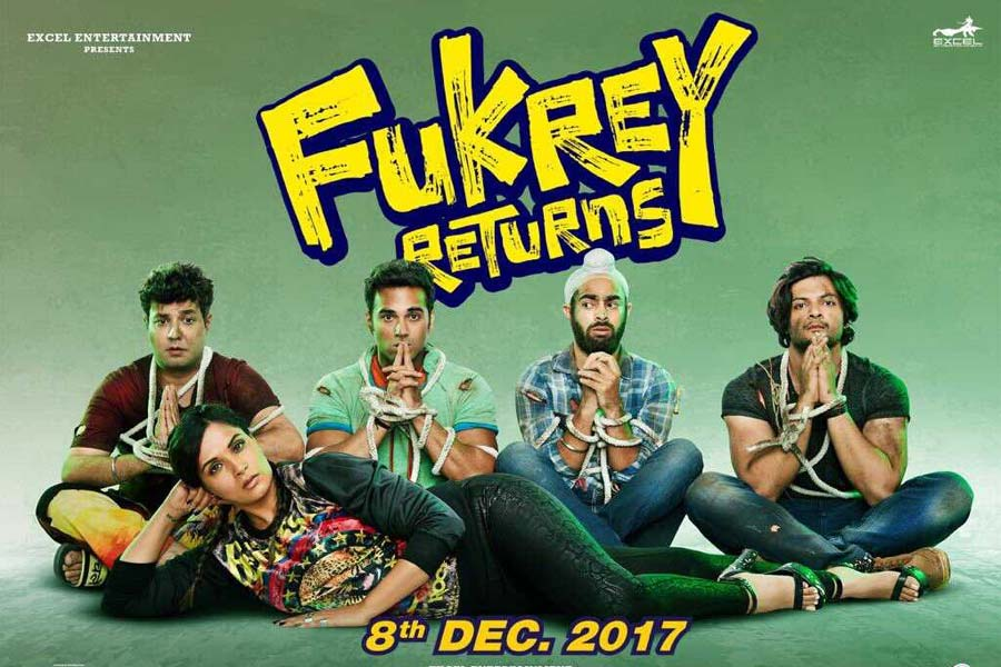 Fukrey Returns Movie Ticket Booking Offers, Release Date, Cast, Trailer, Songs, Review
