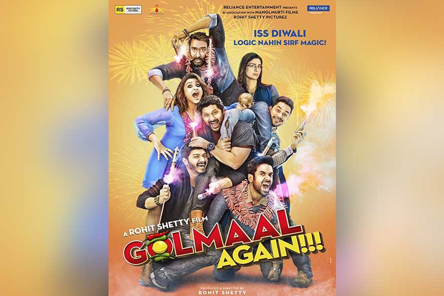 Golmaal Again Movie Ticket Booking Offers, Release Date, Cast, Trailer, Songs, Review
