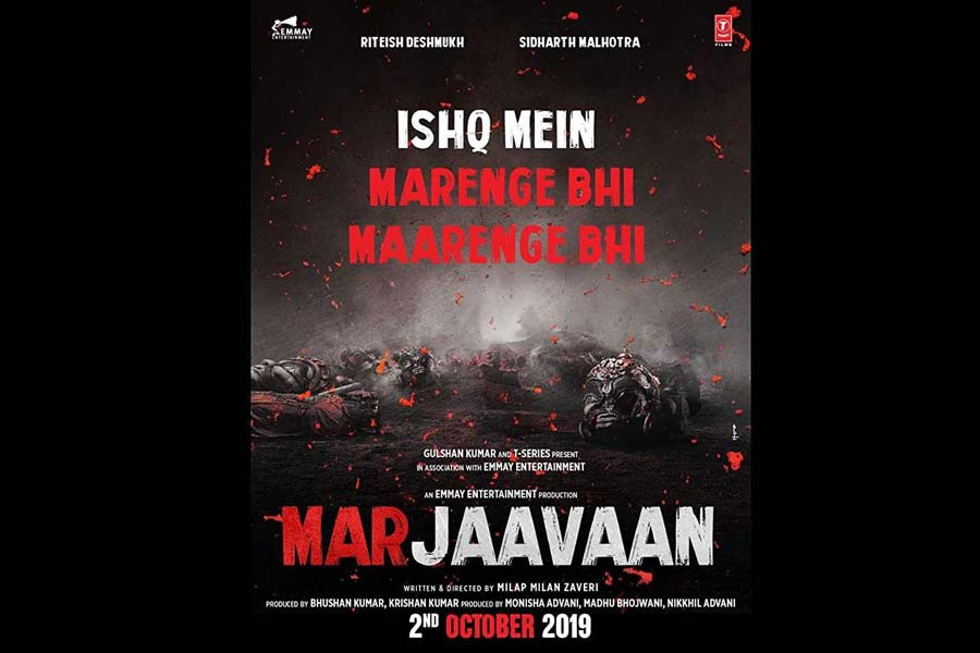 Marjaavaan Movie Ticket Offers, Online Booking, Ticket Price, Reviews and Ratings