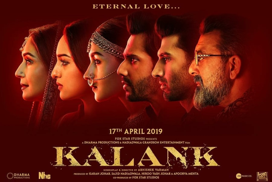 Kalank Movie Ticket Offers, Online Booking, Ticket Price, Reviews and Ratings