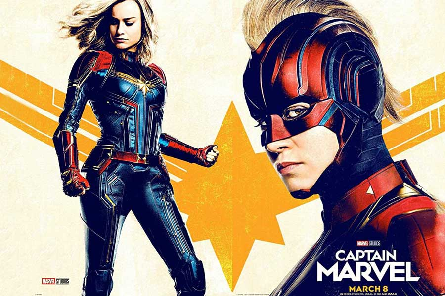 Captain Marvel Movie Ticket Offers, Online Booking, Ticket Price, Reviews and Ratings