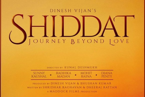 Shiddat Movie Ticket Offers, Online Booking, Ticket Price, Reviews and Ratings