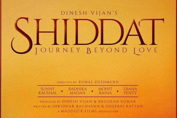 Shiddat Movie Ticket Offers, Online Booking, Trailer, Songs and Ratings