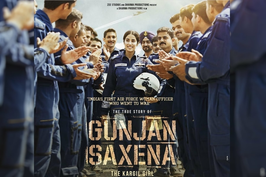 Watch Gunjan Saxena The Kargil Girl Full Movie Online In Hd