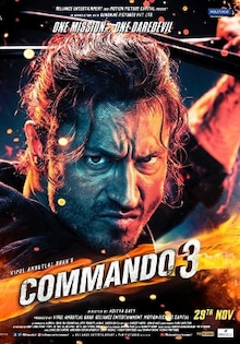 Commando 3 Movie Release Date, Cast, Trailer, Songs, Review