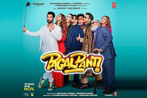 Pagalpanti Movie Ticket Offers, Online Booking, Ticket Price, Reviews and Ratings