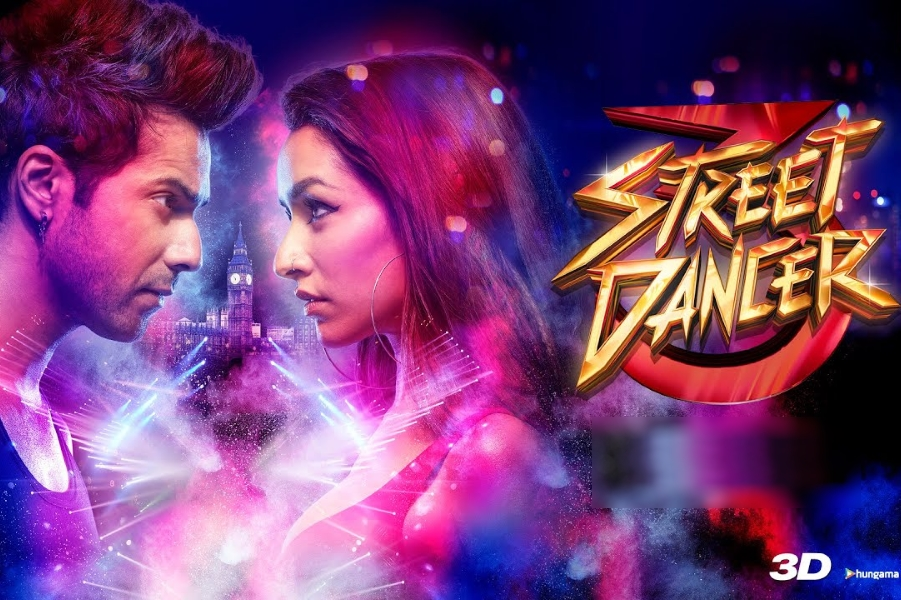 Street Dancer 3 (3D) Movie Ticket Offers, Online Booking, Ticket Price, Reviews and Ratings