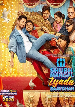 Shubh Mangal Zyada Saavdhan Movie Release Date, Cast, Trailer, Songs, Review