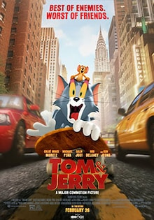 Tom and Jerry Movie Release Date, Cast, Trailer, Review